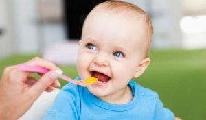 Thực đơn ăn dặm cho bé 6 tháng tăng cân