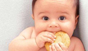 Bánh ăn dặm cho bé 6 tháng