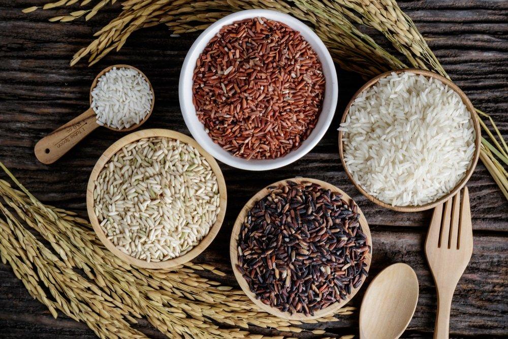 chọn gạo sạch