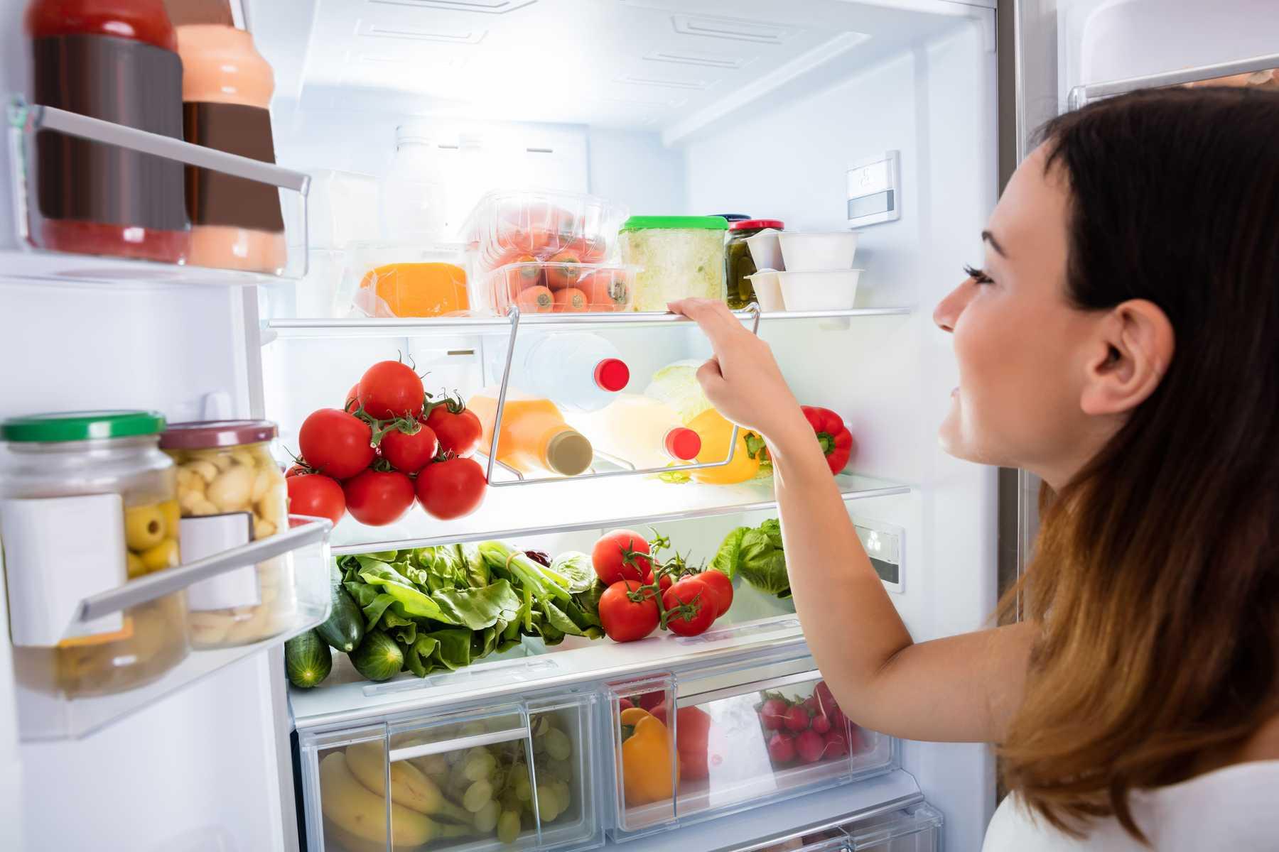 bảo quản thức ăn ở tủ lạnh